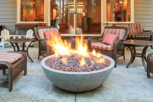 Fire Pits in Chicagoland Area